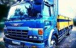 Японский грузовик Хино (Hino) и немецкий кондиционер металла Roil Platinum.