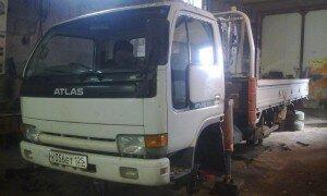 Ниссан Атлас (Nissan Atlas) Диагностика и ремонт тормозов на выходных