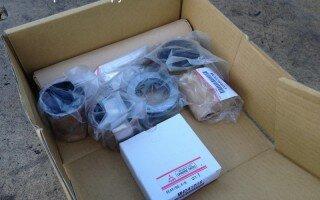 Замена шкворней Мицубиси Фусо Супер Грейт (Mitsubishi Fuso Super Great )