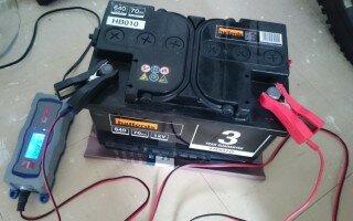 Как осуществить зарядку необслуживаемого аккумулятора