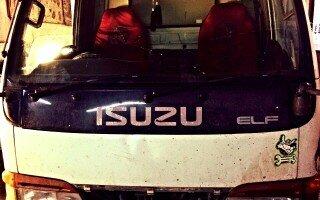 Ремонт Isuzu Elf ( Исузу Эльф ). Двигатель обороты не сбрасывает