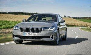 Первый гибрид BMW 5 серии потребляет 1,9 литра бензина на сотню