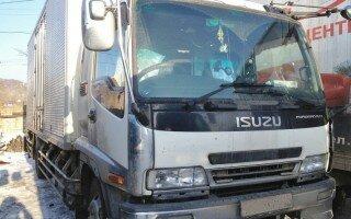 Ремонт пневмоподвески грузовика Исузу Форвард (Isuzu Forward)