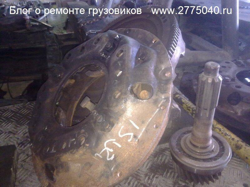 Корзина сцепления и маховик Исузу Гига (Isuzu Giga) Автосервис «Первый» Владивосток