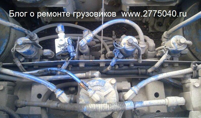 Соленоиды пневмоподвески Исузу Гига (Isuzu Giga) Автосервис «Первый» Владивосток