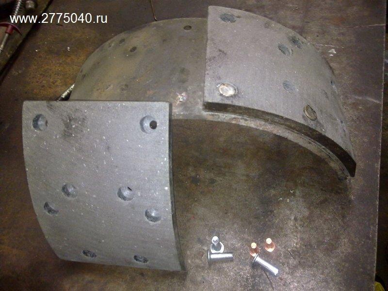 Исузу Гига (Isuzu Giga) Тормозные колодки. Автосервис «Первый» Владивосток
