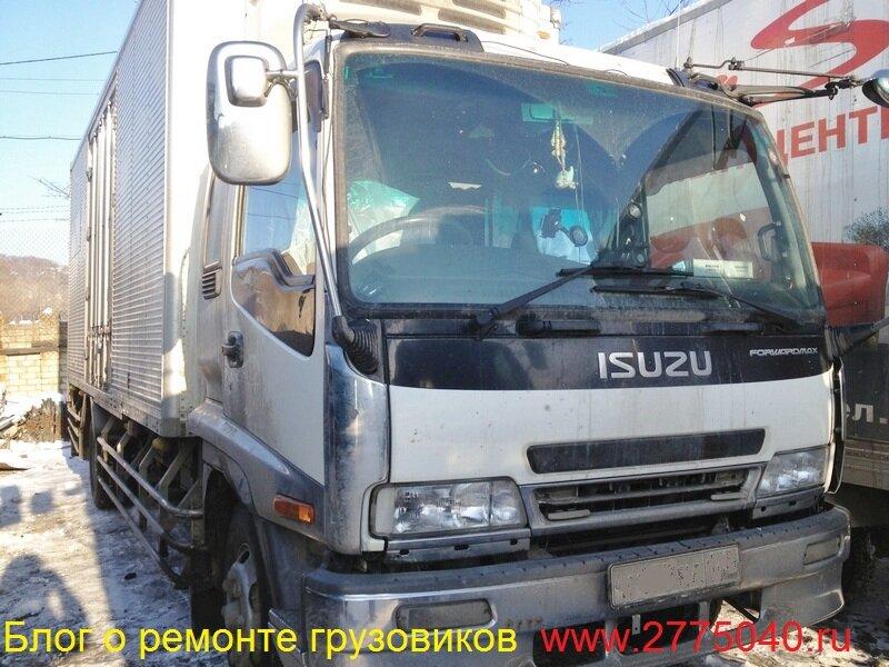 Ремонт пневмоподвески грузовика Исузу Форвард ( Isuzu Forward )