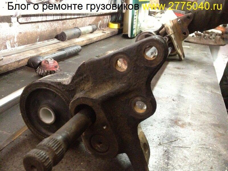 Новые салейнтблоки кабины Исузу Форвард (Isuzu Forward) Автосервис «Первый» Владивосток