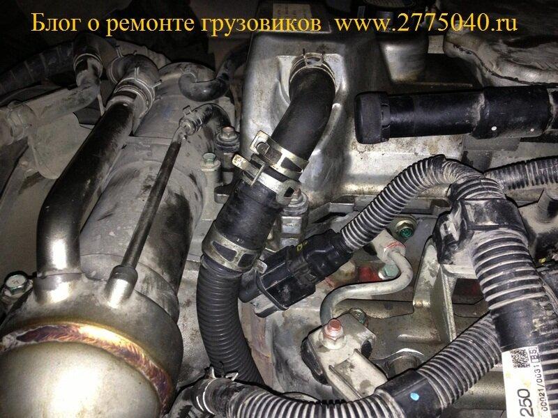 Ремонт двигателя J07ET грузовик Хино Рейнджер (Hino Ranger) Автосервис «Первый» Владивосток