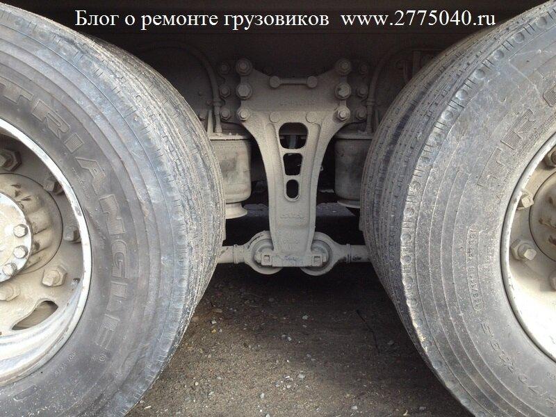 Пневмоподвеска грузовика Исузу гига ( Isuzu Giga )