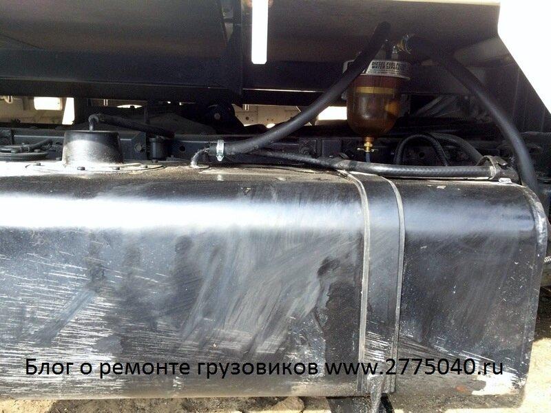 Сепаратор топлива. Продажи и установка. Автосервис «Первый». Владивосток