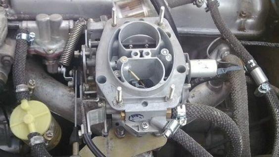 устройство карбюратора солекс