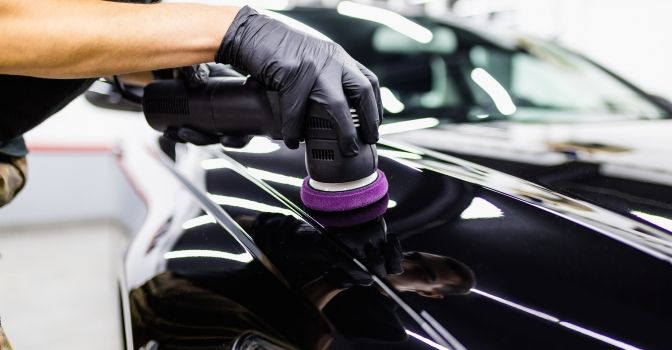 как заполировать царапины на автомобиле своими руками